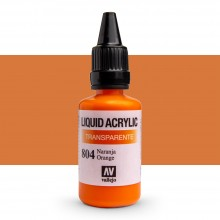 Vallejo : Liquid Acrylic Paint : 32ml : Orange