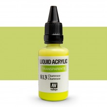 Vallejo : Liquid Acrylic Paint : 32ml : Chartreuse