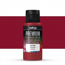 Vallejo : Premium Airbrush Paint : 60ml : Carmine