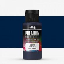 Vallejo : Premium Airbrush Paint : 60ml : Dark Blue