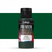 Vallejo : Premium Airbrush Paint : 60ml : Dark Green