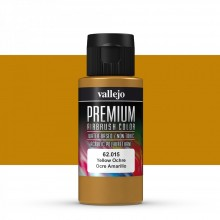 Vallejo : Premium Airbrush Paint : 60ml : Yellow Ochre