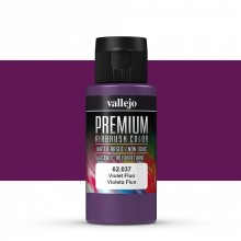 Vallejo : Premium Airbrush Paint : 60ml : Violet Fluorescent