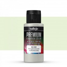 Vallejo : Premium Airbrush Paint : 60ml : Phosphorescent