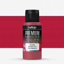 Vallejo : Premium Airbrush Paint : 60ml : Metallic Red