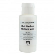 Vallejo : Acrylic Fluid Matt Medium : 60ml