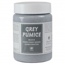 Vallejo : Acrylic Rough Grey Pumice Paste Medium : 200ml