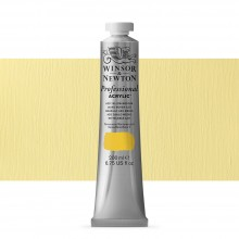 Winsor & Newton : Professional Acrylic Paint : 200ml : Azo Yellow Medium
