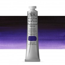 Winsor & Newton : Professional : Acrylic Paint : 200ml : Dioxazine Purple