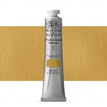 Winsor & Newton : Professional : Acrylic Paint : 200ml : Gold