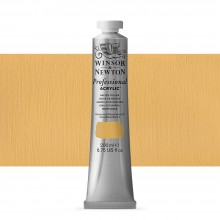 Winsor & Newton : Professional : Acrylic Paint : 200ml : Naples Yellow