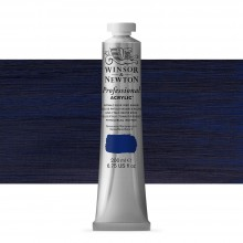 Winsor & Newton : Professional : Acrylic Paint : 200ml : Phthalo Blue Red Shade