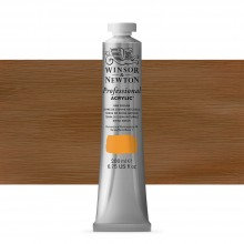 Winsor & Newton : Professional Acrylic Paint : 200ml : Raw Sienna