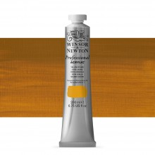 Winsor & Newton : Professional Acrylic Paint : 200ml : Yellow Ochre