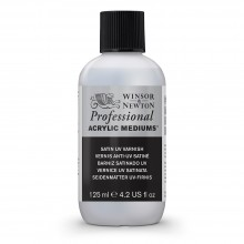 Winsor & Newton : Professional Acrylic : Satin UV Varnish : 125ml
