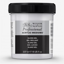 Winsor & Newton : Professional : Acrylic Medium : Gloss Gel : 237ml