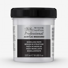 Winsor & Newton : Professional : Acrylic Medium : Modelling Paste : 237ml