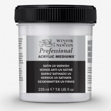 Winsor & Newton : Professional Acrylic : Satin UV Varnish : 225ml