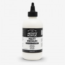 Winsor & Newton : Professional : Acrylic Medium : Matt Medium : 250ml