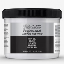 Winsor & Newton : Professional : Acrylic Medium : Matt Gel : 474ml