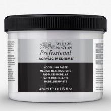 Winsor & Newton : Professional : Acrylic Medium : Modelling Paste : 474ml