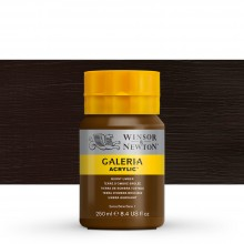 Winsor & Newton : Galeria : Acrylic Paint : 250ml : Burnt Umber