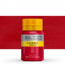 Winsor & Newton : Galeria : Acrylic Paint : 250ml : Crimson