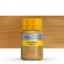 Winsor & Newton : Galeria : Acrylic Paint : 250ml : Metallic Gold