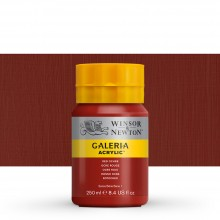 Winsor & Newton : Galeria : Acrylic Paint : 250ml : Red Ochre