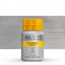 Winsor & Newton : Galeria : Acrylic Paint : 250ml : Metallic Silver