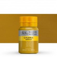 W&N : Galeria : Acrylic Paint : 250ml : Yellow Ochre