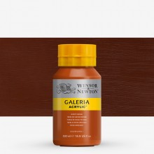 Winsor & Newton : Galeria : Acrylic Paint : 500ml : Burnt Sienna