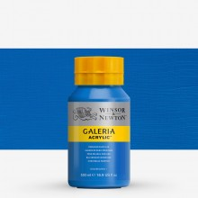 W&N : Galeria : Acrylic Paint : 500ml : Cerulean Blue Hue