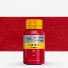 Winsor & Newton : Galeria : Acrylic Paint : 500ml : Crimson