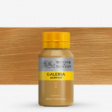 Winsor & Newton : Galeria : Acrylic Paint : 500ml : Metallic Gold