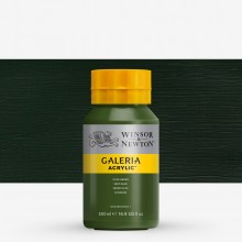 W&N : Galeria : Acrylic Paint : 500ml : Olive Green