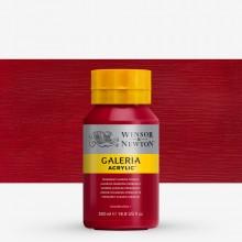 W&N : Galeria : Acrylic Paint : 500ml : Perm Alizarin Crimson
