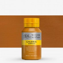 Winsor & Newton : Galeria : Acrylic Paint : 500ml : Raw Sienna Opaque