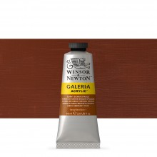 Winsor & Newton : Galeria : Acrylic Paint : 60ml : Burnt Sienna Opaque