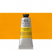 W&N : Galeria : Acrylic Paint : 60ml : Cadmium Yellow Deep Hue