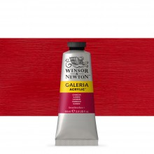 Winsor & Newton : Galeria : Acrylic Paint : 60ml : Crimson