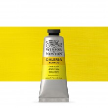 Winsor & Newton : Galeria : Acrylic Paint : 60ml : Lemon Yellow