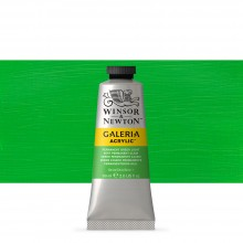 W&N : Galeria : Acrylic Paint : 60ml : Permanent Green Light