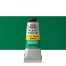 W&N : Galeria : Acrylic Paint : 60ml : Permanent Green Middle