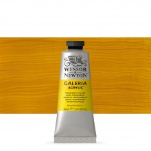 Winsor & Newton : Galeria : Acrylic Paint : 60ml : Transparent Yellow