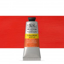 W&N : Galeria : Acrylic Paint : 60ml : Vermilion Hue