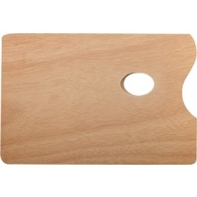 JAS : Wooden Palette : Rectangular 12 x 8 inches