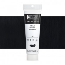 Liquitex : Professional : Heavy Body Acrylic Paint : 138ml : Ivory Black