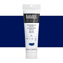 Liquitex : Professional : Heavy Body Acrylic Paint : 138ml : Phthalo Blue (Green Shade)