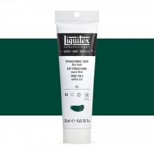Liquitex : Professional : Heavy Body Acrylic Paint : 138ml : Phthalo Green (Blue Shade)